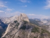 Half Dome -panorama view