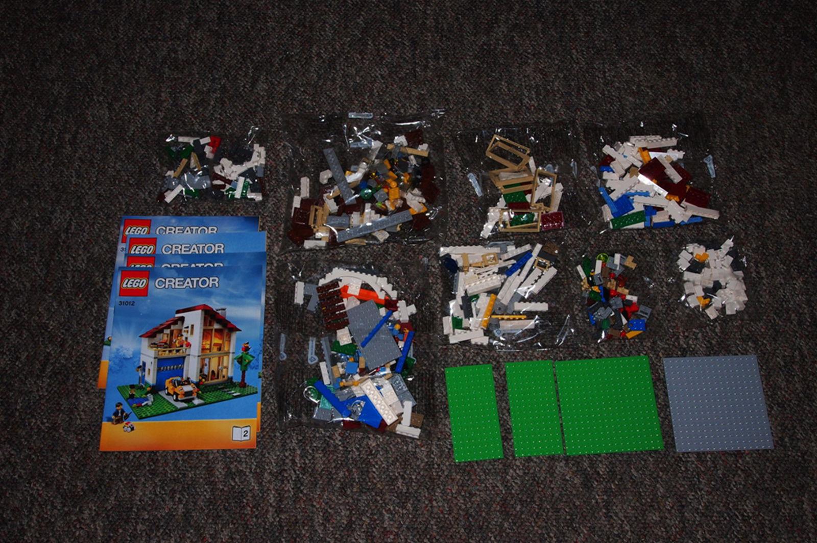 八包砖块,四本说明书,共有三种形态